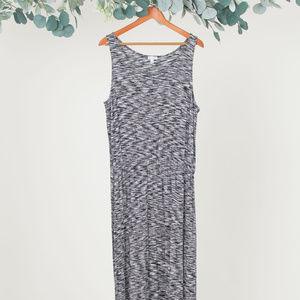 Dresses & Skirts - LOVER FIRE BLACK & WHITE COTTON MAXI DRESS